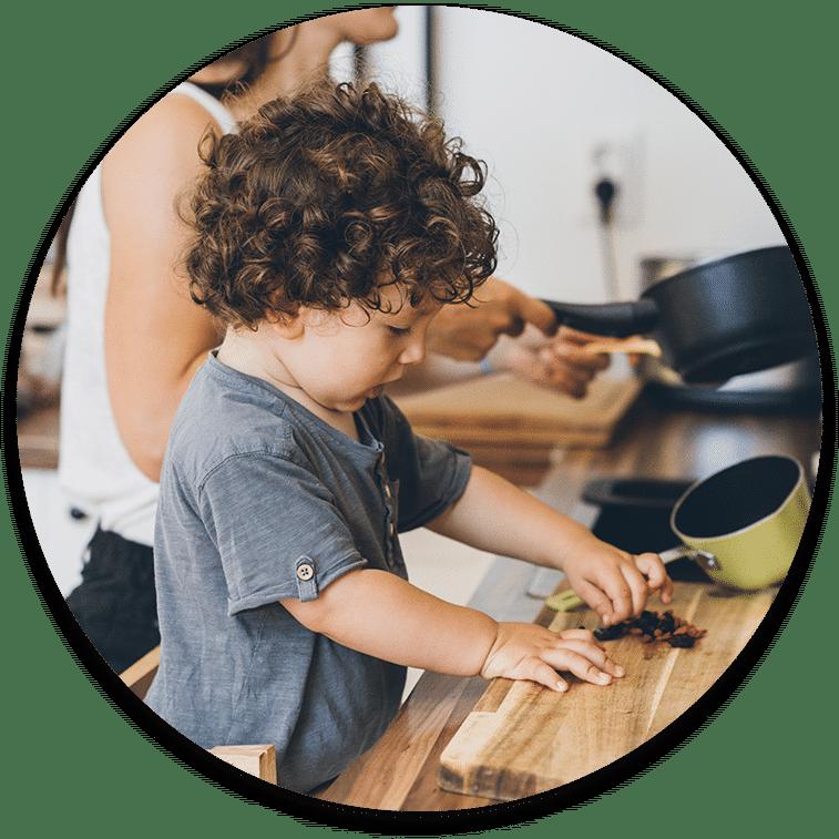 child food preparation